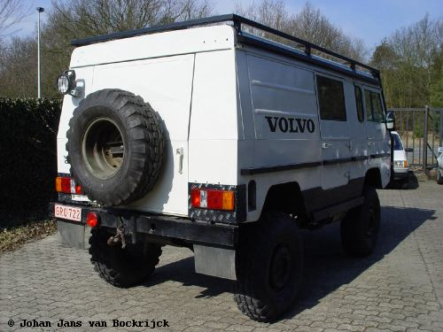 Trial vehicle of Johan Jans van Bockrijck, back end
